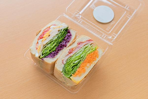 クルール定番人気サンドイッチセット ¥600
