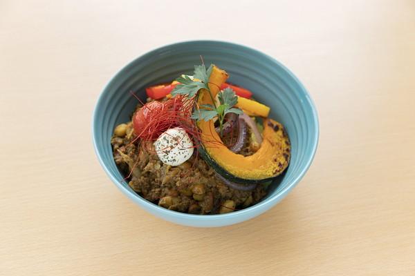 大豆とごぼうのキーマカレー ¥972